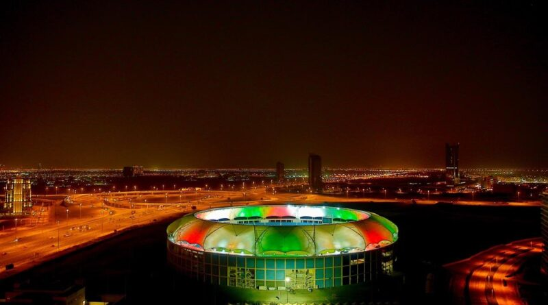 What a spectacular and breathtaking view from the stadiums in Dubai and Abu Dhabi.