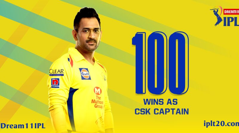 Dhoni holds two IPL records