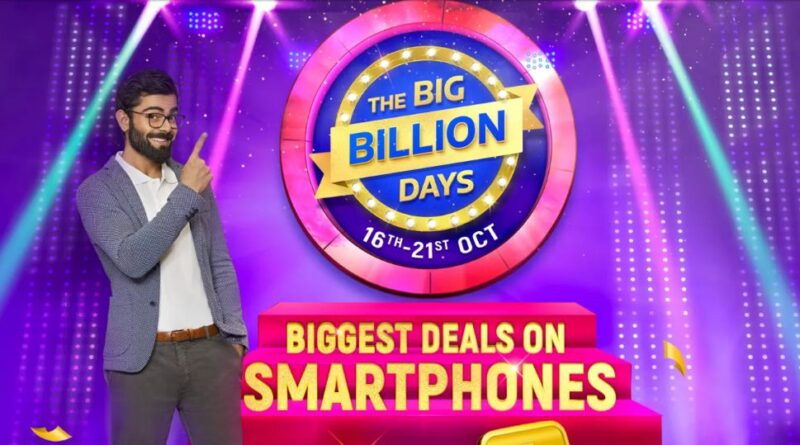 Flipkart Big Billion Days Sale October 16, Will Run for Six Days