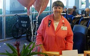 Faye McNeill Named Volunteer of the Year