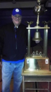 SSFHS Alum Rhod Wallace proudly shows off THE Bell