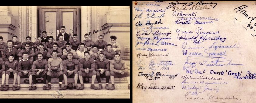 1932 SSFHS Football TeamCan you name the players?