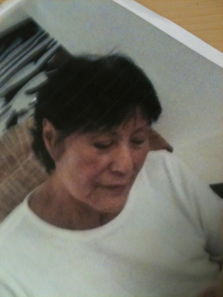 Kilsun HART, age 80, was reported missing today. She is a white female, 5 feet tall, weighs approximately 90 pounds, has dyed black hair and brown eyes.