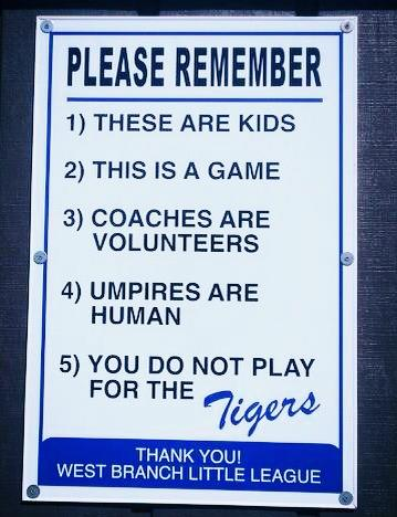 Sign at West Branch Mich. Field Photo shared by; Vintage Mitten Facebook page