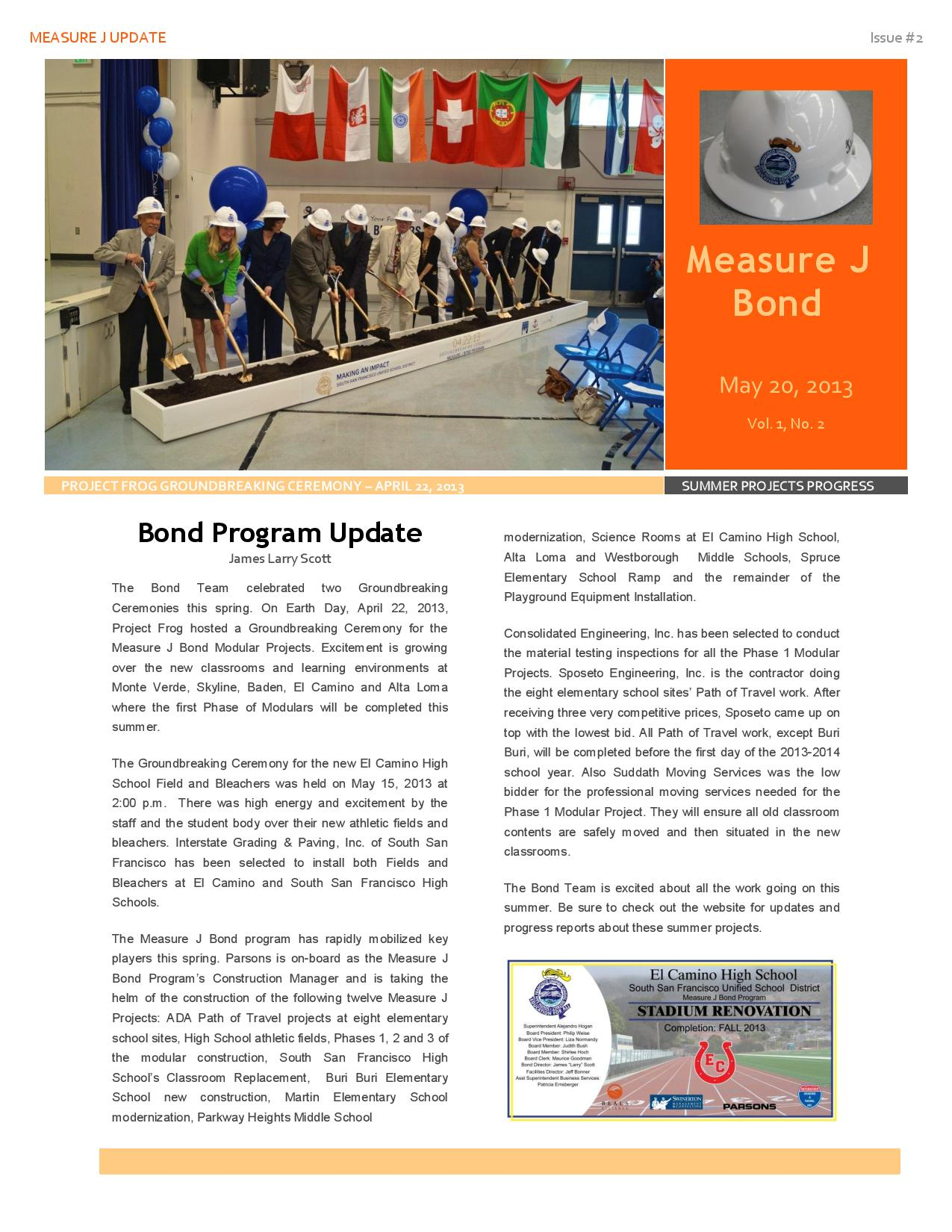 SSFUSD Measure J Newsletter #2 South San Francisco-page-001