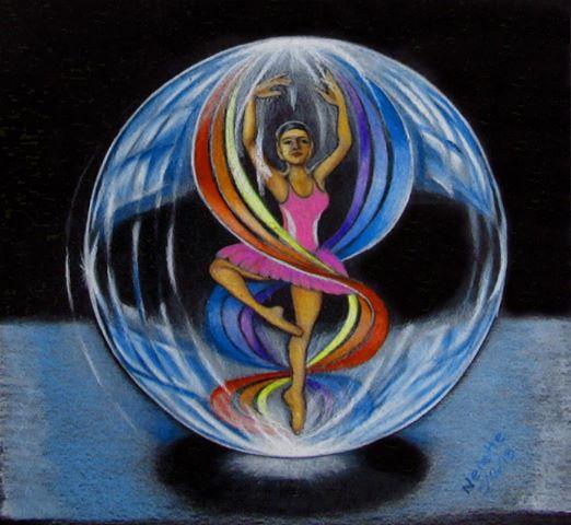 Marblelous Ballerina  By Nenette Santos