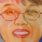 Self portrait by artist Nenette Santos ArtWorks by Net