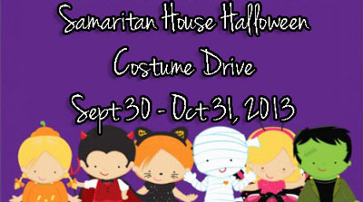 Samaritan House Halloween costumes