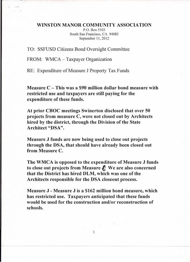 WMCA to Oversight Bd 1