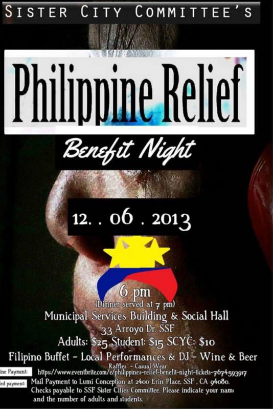 Philippine Relief Benefit Night