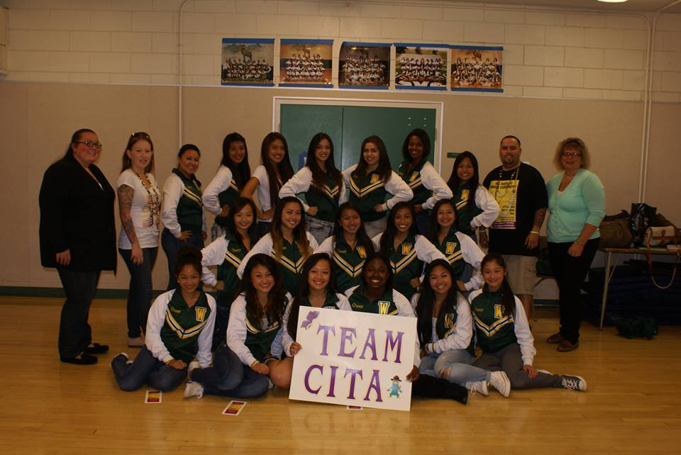 TEAM CITA - the Westmoor Cheer Squad worked hard to bring attention - and $$- to September's Childhood Cancer Awareness Month by raising money for Juliana's Journey Foundation
