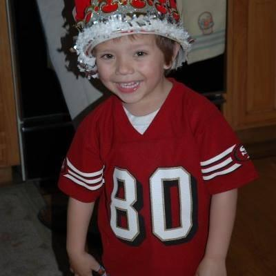 Representing back in 2008! Go Niners!  Photo: Myla Jessica La Rocca