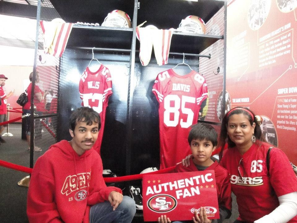 49er family Photo: Savita Shaikh