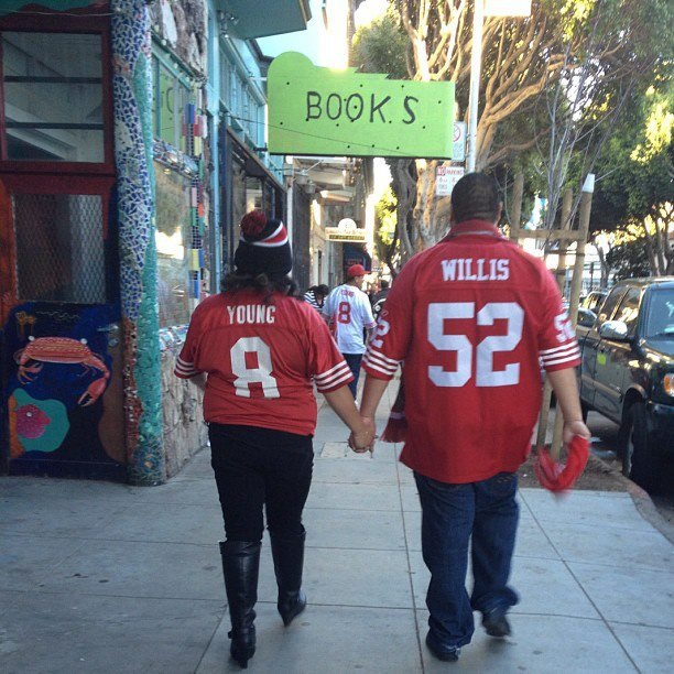 Coming & Going 49ers forever Photo: Cynthia V