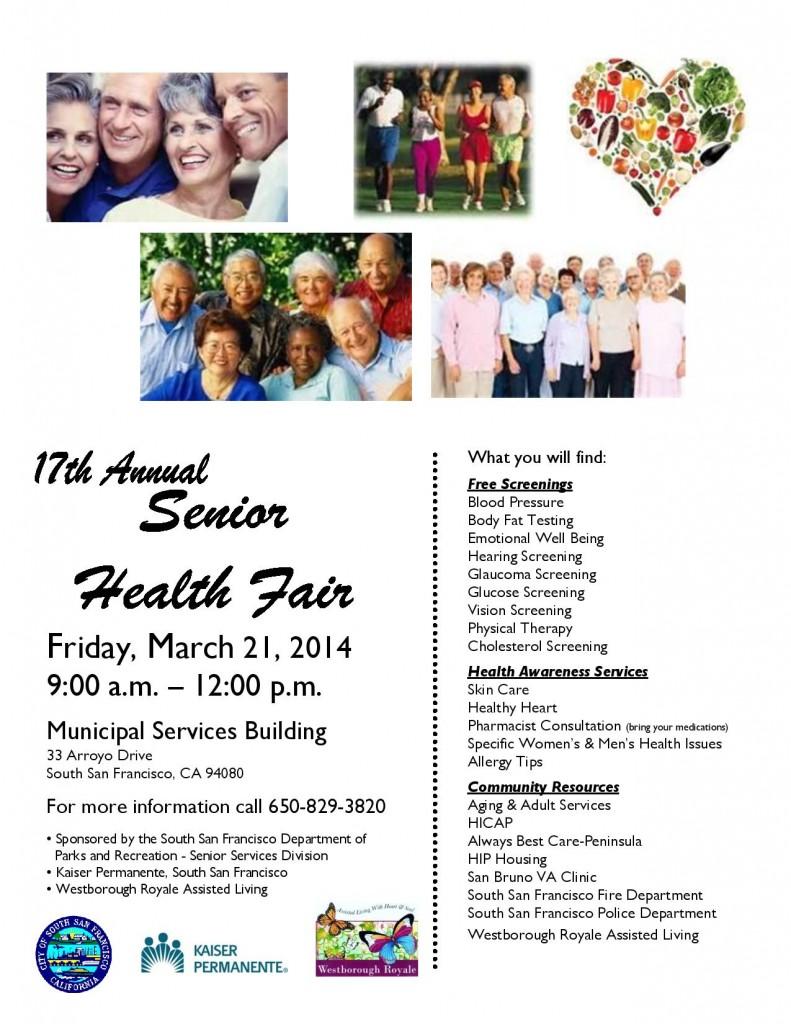 Senior Health Fair 2014 Flyer-page-001