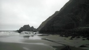 South of San Pedro Rock at low tide. Photo: Mick Wedley