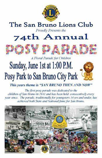 posy parade flyer