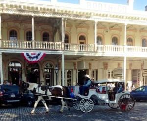 Enjoy a buggy ride through the streets of Old Sacramento Photo ESC