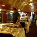 The Dining Car is one of the 21 renovated trains Photo ESC