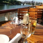 The Delta Bar & Grill offers great outdoor dining  Photo ESC
