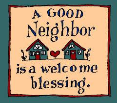 good neighjbor blessing