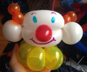 silly izzy balloon