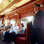 Volunteers have renovated this train & lead tours Photo ESC