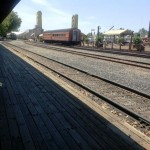 Take a ride back in time on the Sac So Pacific a short walk from Delta King Photo ESC