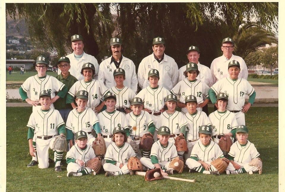 1975 South San Francisco PAL Pee Wee Baseball Champions Ryan Realty. (Congressman Leo Ryan) Photo Charles Crispo-Desira