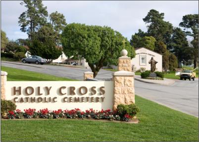holy cross entrance pillar