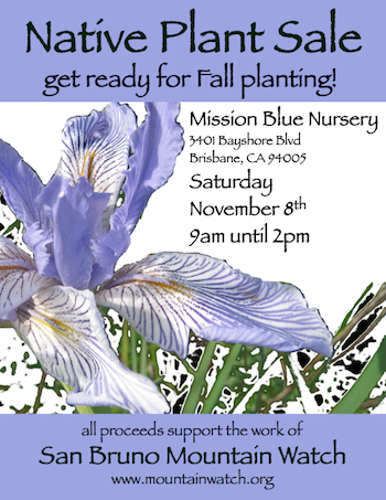 native plant sale 11.8.2014