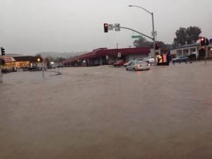 ECR at Brentwood flooding  Photo: Danielle Milhorn