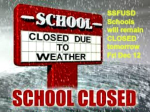 school closed due to weather fri 12.12