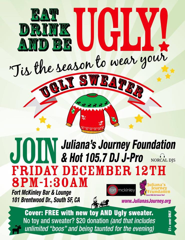 ugly sweater frid 12.12 Juliana