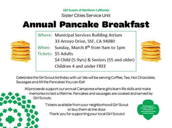 girl scout cookies bfast 3.2015