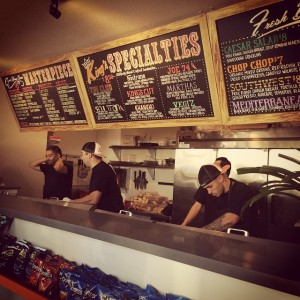 Kings Sandwich Shop opened this past week at 331 Baden Avenue Photo TR