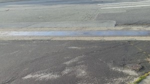 Calwater identified the rain water run off from a hill behind homes in West Winston Manor