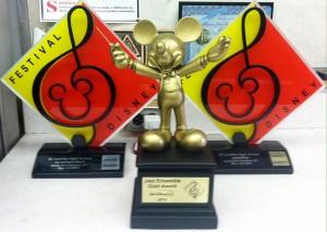 ECH Jazz Band Disney Award