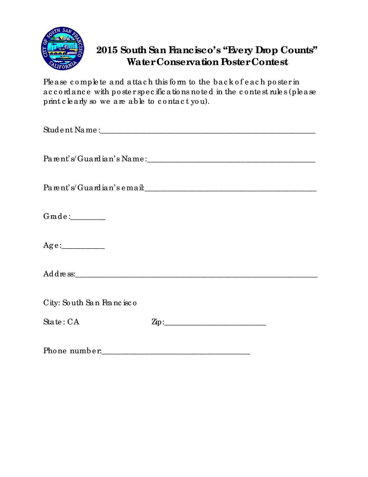 Water Conservation Coloring Contest June 2015-page-003