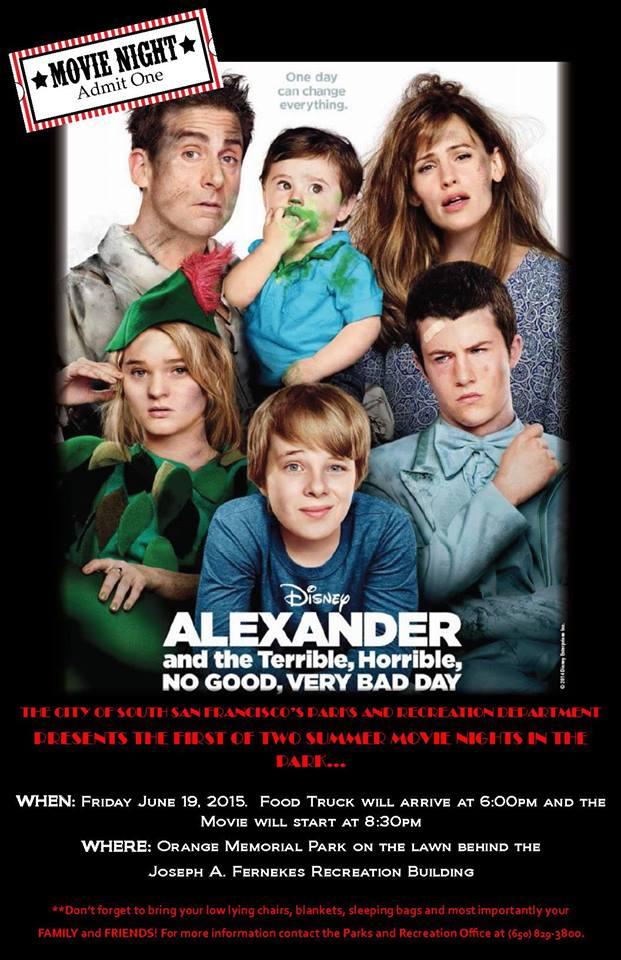 movie night SSF p&r 6.2015
