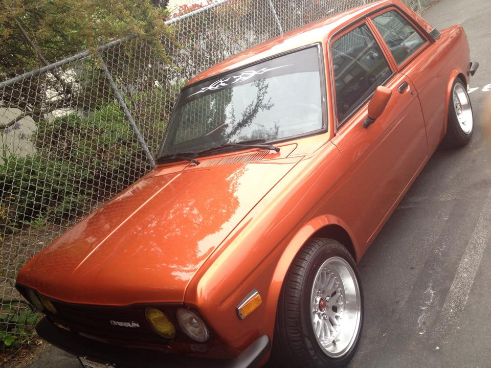 This 1971 Datsun 510 has been reported stolen