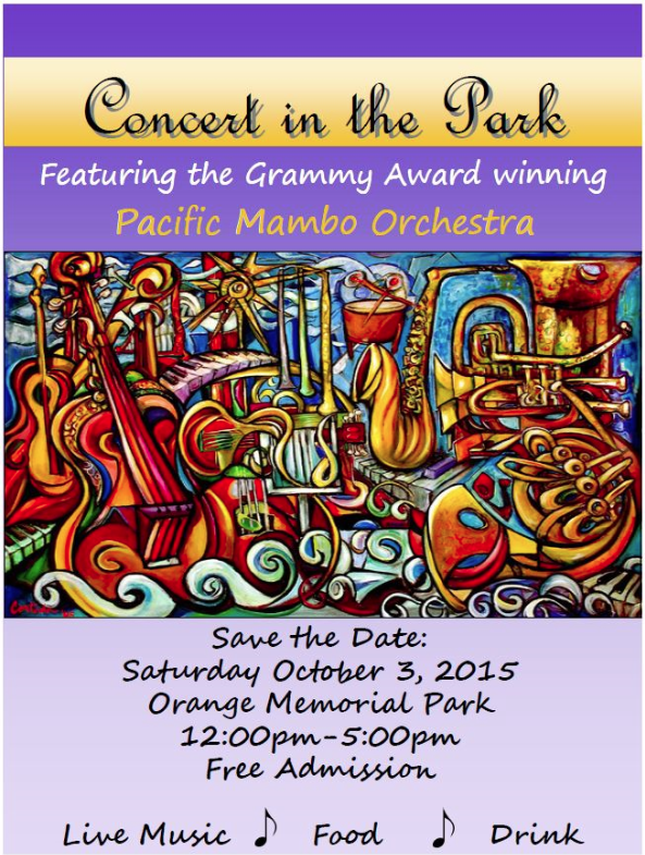 concert in the park 2015