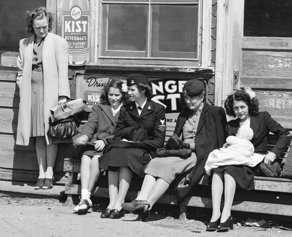Historical 5.18.45 ladies on SC junction