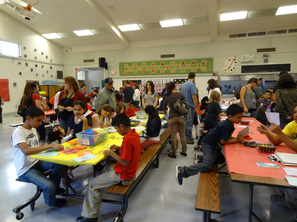 Family Math Night at Ponderosa Elementary School proves to be a success Photo: Dr. Moore Thomas