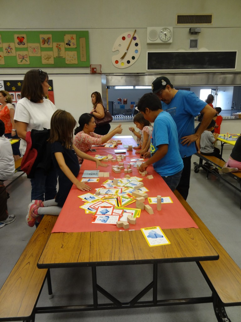 Teachers hosted games to help students understand Math as outlined in  Common Core Photo courtesy of Dr. Moore Thomas