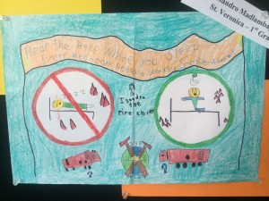 St Veronica student poster