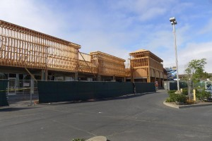 The Westborough Hills Shopping Center is going through a complete renovation Photo City of sSF
