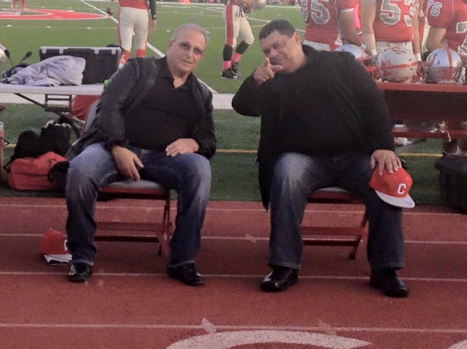 ECHS Coaches Lou Zuardo & Carlos Roman Photo: Coach Jake