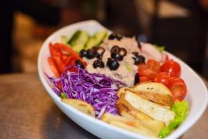Enjoy amazing salads at Antigua Cafe