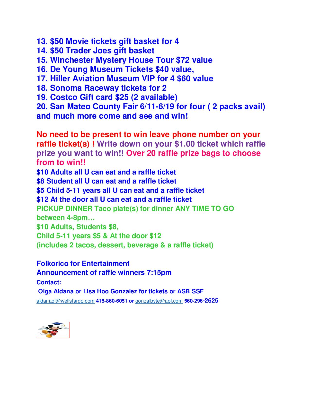taco all u can eat raffle ticket items list april 19 2016 revised!!!!!!!#-page-002